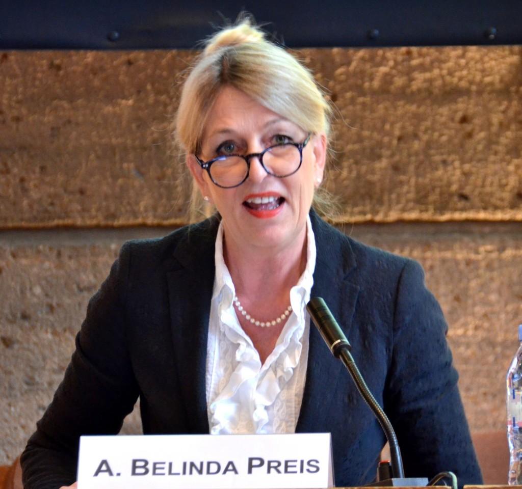 Intervention d'Ann Belinda Preis à la conférence du Rotary à l'UNESCO