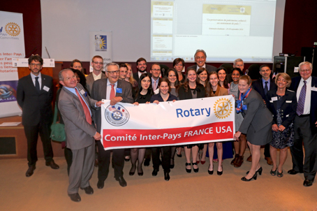Séminaire du Comité interpays France Etats Unis le 1er octobre 2016 Ecole Militaire à Paris